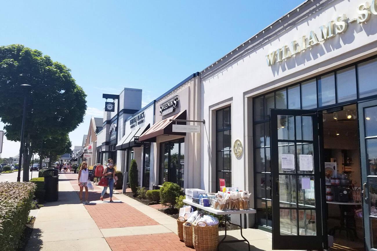 Outdoor Shops at Garden City Center