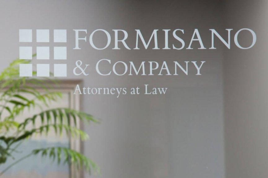 Formisano & Company Logo over Image