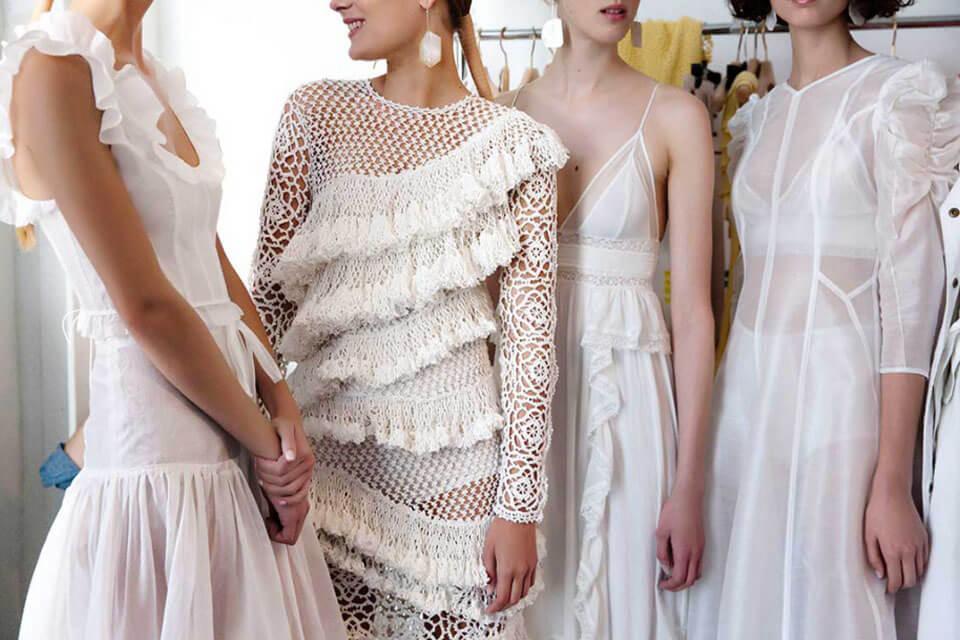 Women in dresses from Mel & me