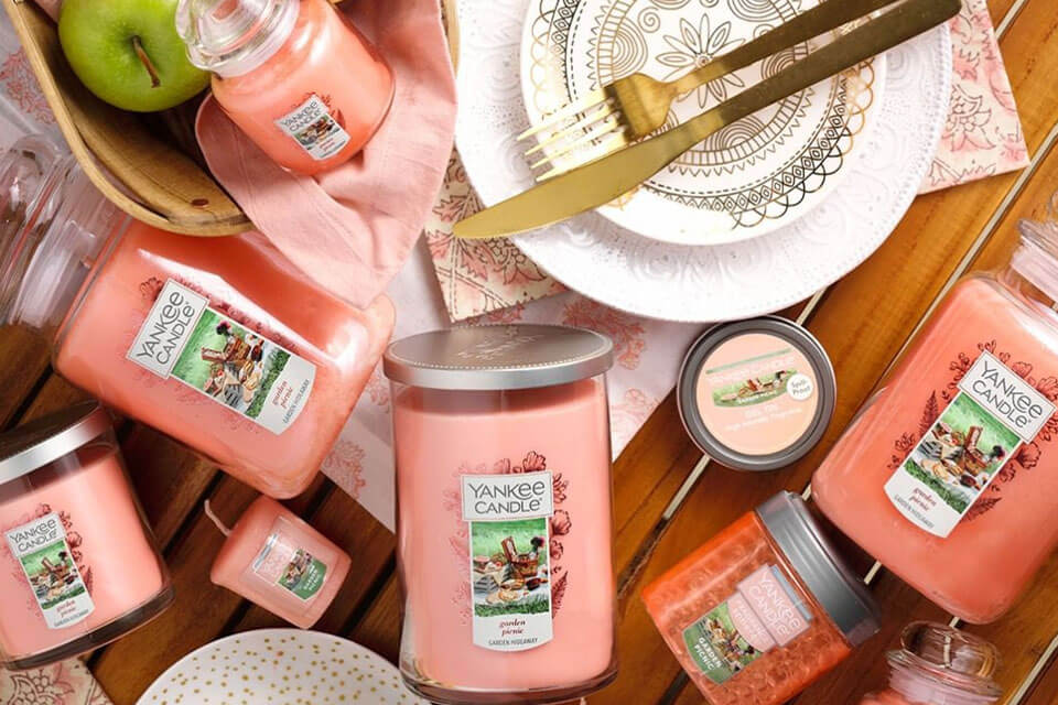 Candles from Yankee Candle