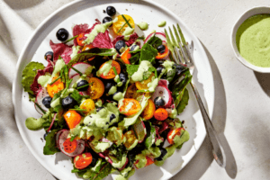 Photo of a salad
